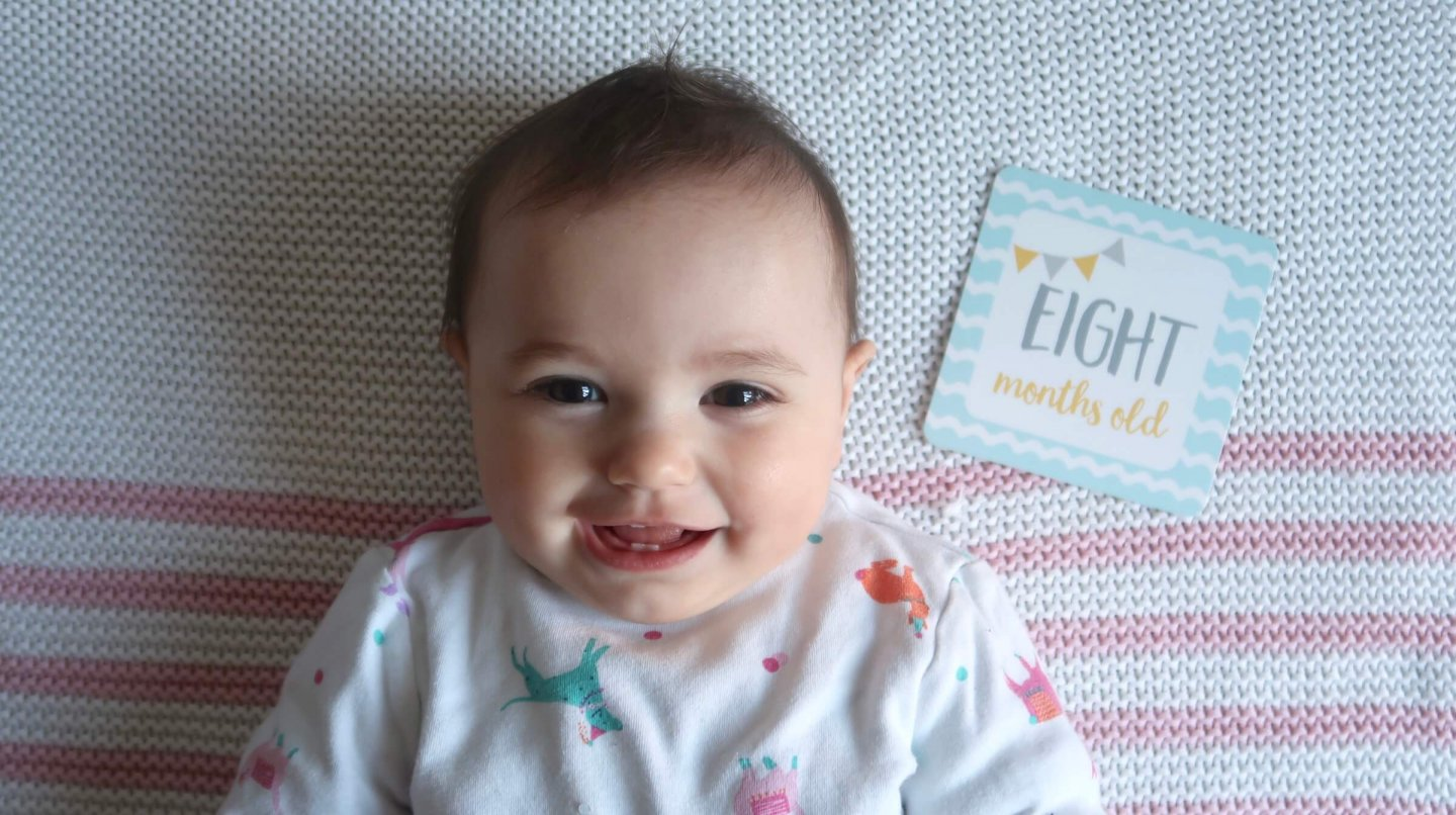 B at eight months