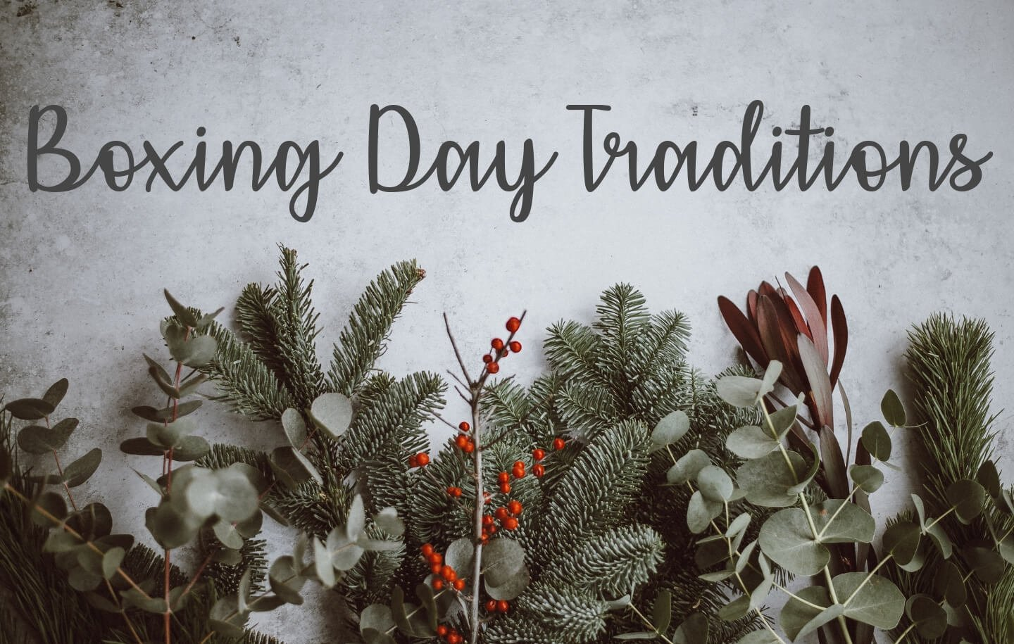 Boxing Day Traditions