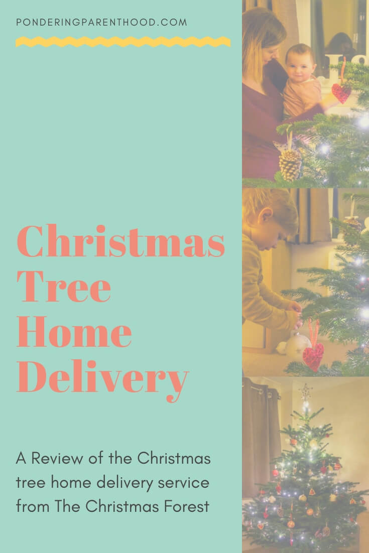 Christmas Tree Delivery - a review of the Christmas tree delivery service from The Christmas Forest.
