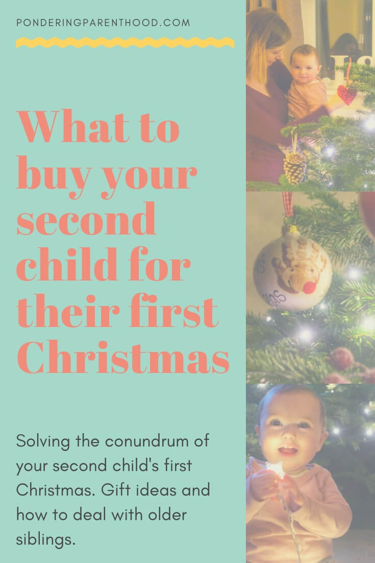 Wondering what to buy your second baby for their first Christmas, when they seem to have everything already? Read this post!