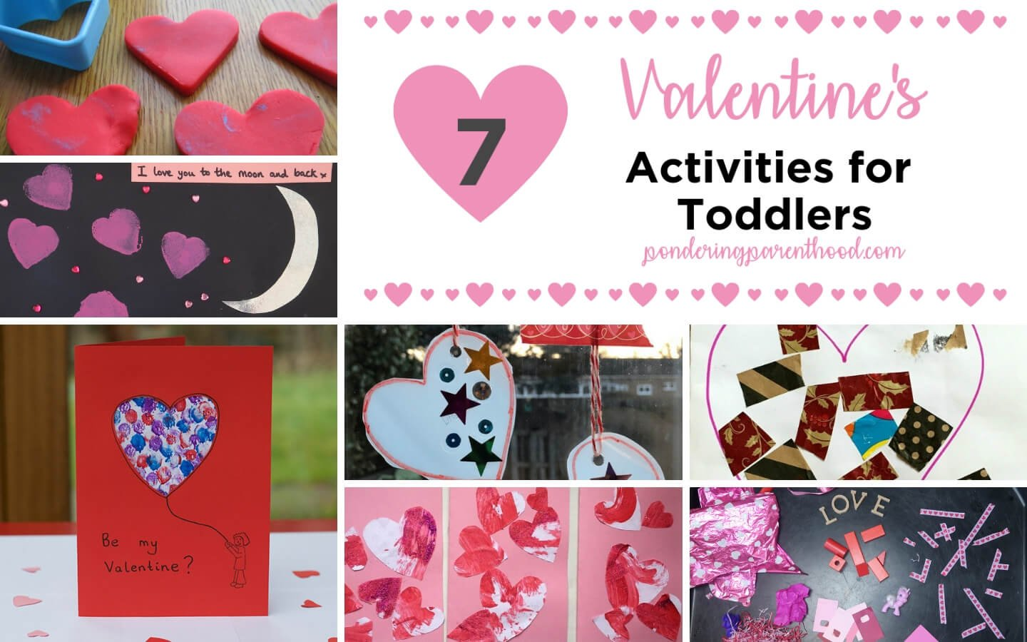 7 Valentine's Activities for Toddlers