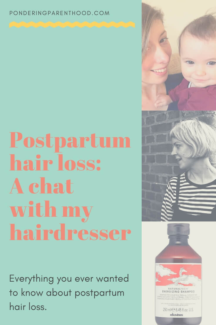 Everything that you need to know about postpartum hair loss and regrowth.