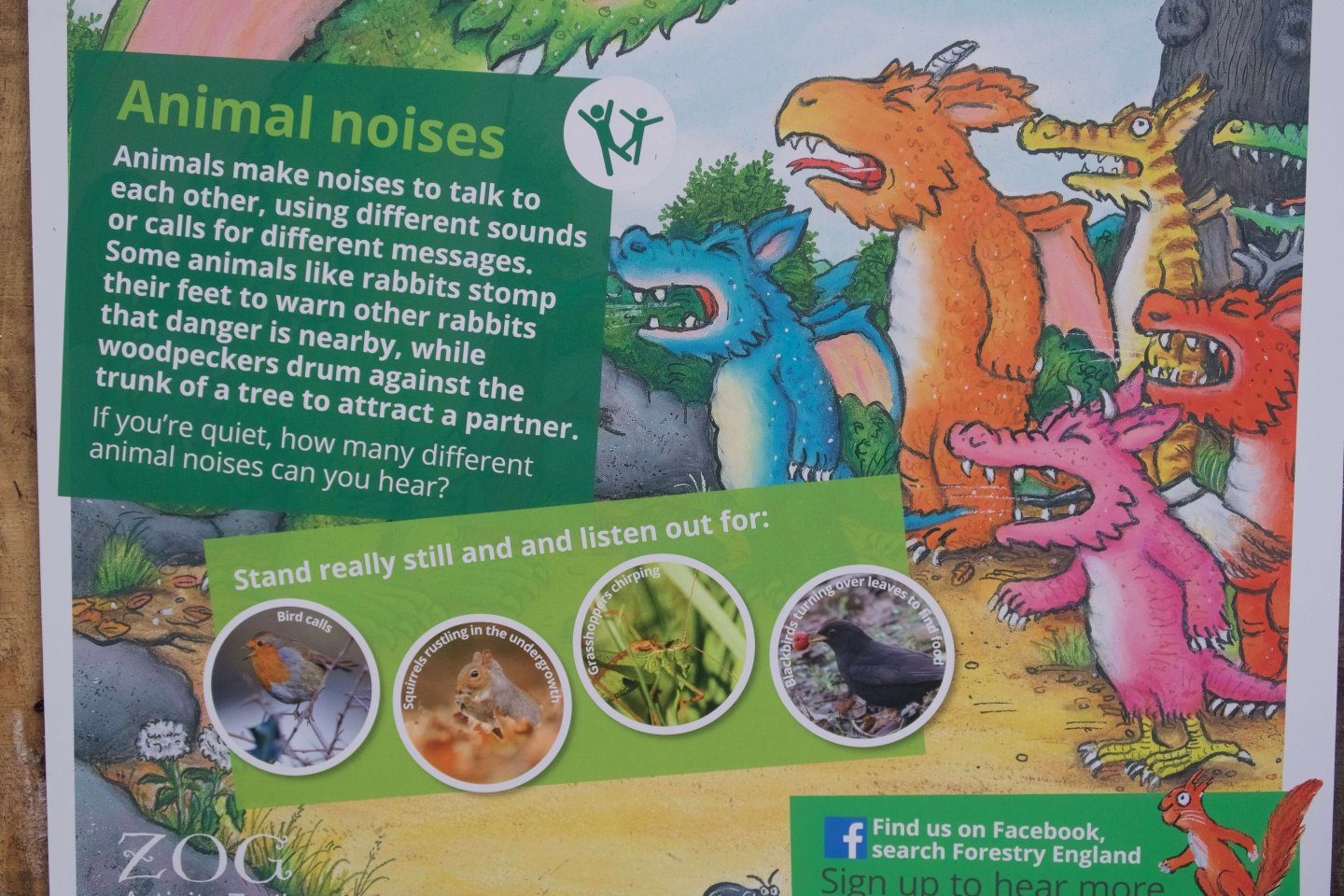 The Zog Trail at High Lodge, Thetford Forest