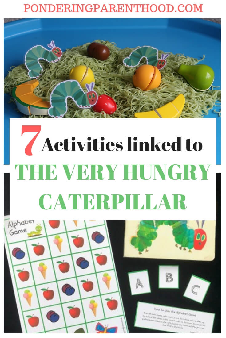 Looking for The Very Hungry Caterpillar ideas? Check out this post of seven brilliant activities linked to The Very Hungry Caterpillar by Eric Carle.
