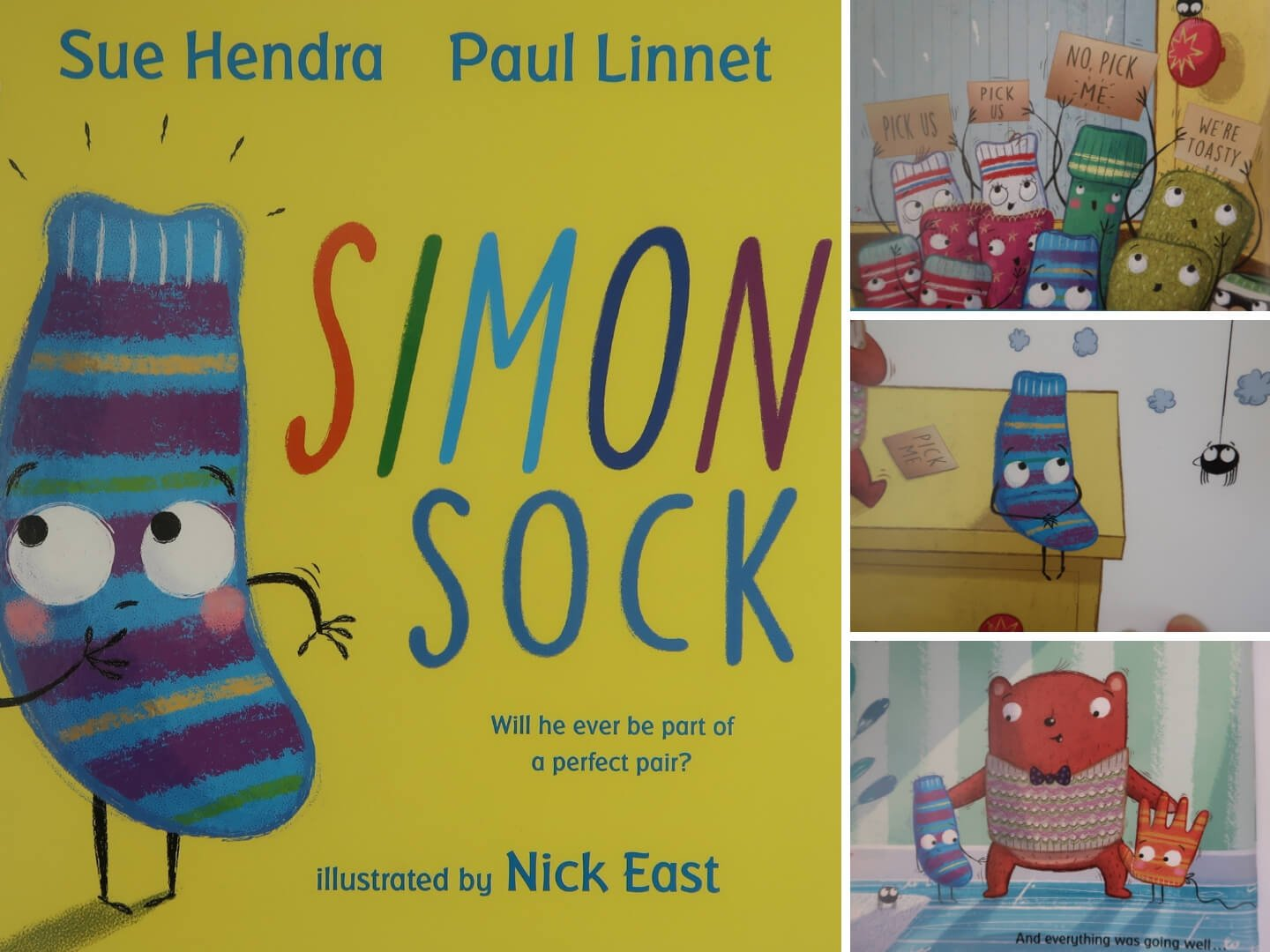 Simon Sock by Sue Hendra and Paul Linnet